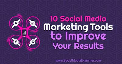 10 herramientas de marketing para redes sociales