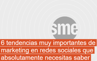 6 tendencias muy importantes de marketing en redes sociales
