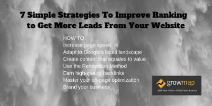 7 estrategias para mejorar las clasificaciones y obtener clientes