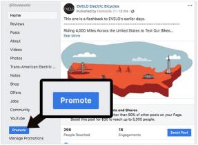 Cómo lanzar anuncios de Facebook desde su página de negocios