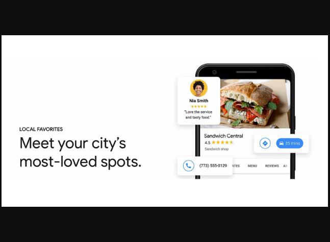 "Google: Destaca Restaurantes marcados como ""Local Favorito """