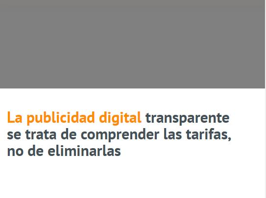 SEM: Transparencia es tarifas comprensibles, no sin ellas