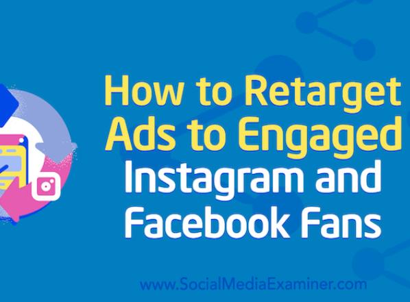 Facebook: El Retargetting en Instagram y Facebook