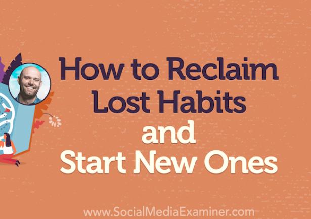 PYME: Cómo recuperar hábitos perdidos y coger nuevos