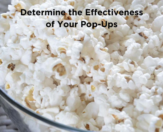 Diseño: Cómo determinar la efectividad de tus Pop-Ups