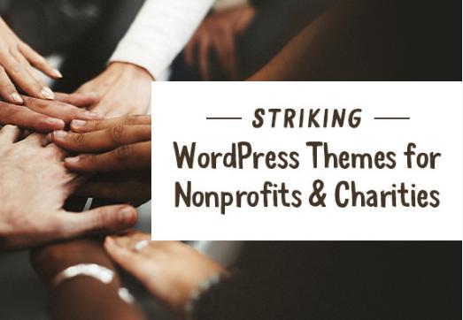 WordPress: 10 buenos temas para organizaciones benéficas