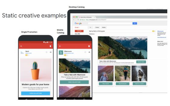 Google: Anuncios de GMai.l vs. Anuncios de Discovery