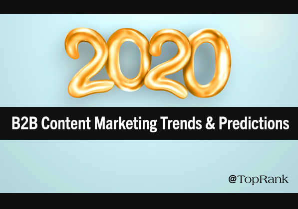 Contenido: Tendencias y predicciones de Marketing de Contenido 2020