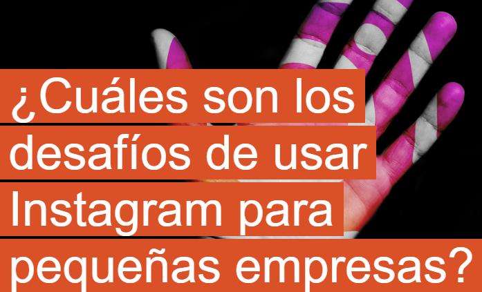 Instagram: ¿Cuáles son los desafíos para pequeñas empresas?