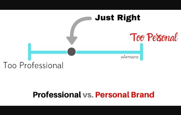 Marca: Profesional vs personal: ¿La combinación correcta?