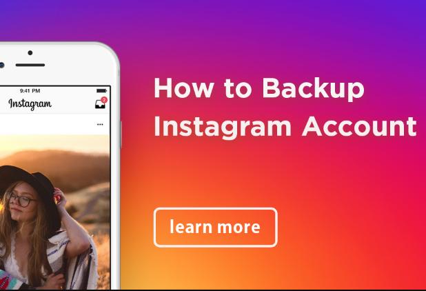 Instagram: Cómo hacer una copia de seguridad de tus fotos