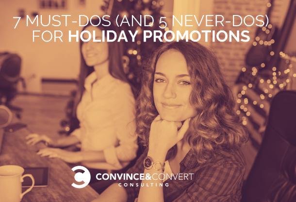 7 cosas que debe hacer y 5 que no para promociones de vacaciones