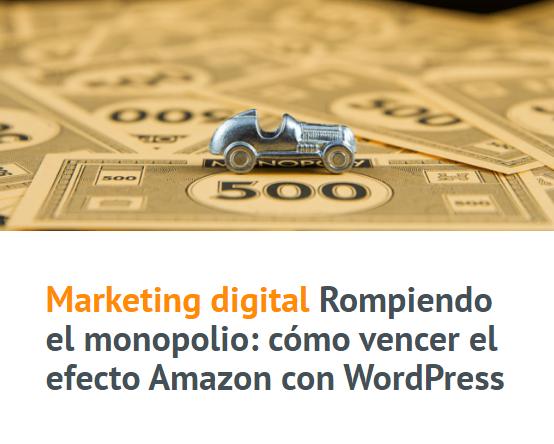 PYME: Cómo vencer el efecto Amazon con WordPress