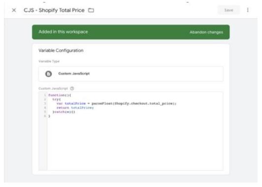 Google: plantillas personalizadas en Google Tag Manager