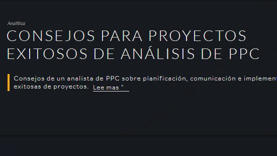 SEM: Consejos para proyectos de análisis de PPC con éxito