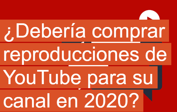 AdWords: ¿Comprar reproducciones de YouTube para tu canal?