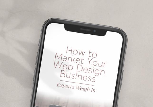 Diseño: Cómo comercializar tu negocio de diseño web