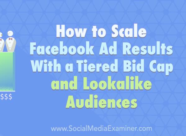 FAcebook Ads: ¿Quieres una mejor forma de escalar tus campañas?