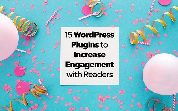 WordPress: 15 Plugins para aumentar las reacciones del lector