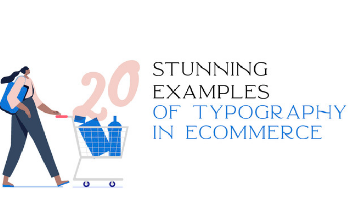 Diseño: 20 impresionantes ejemplos de tipografía en eCommerce