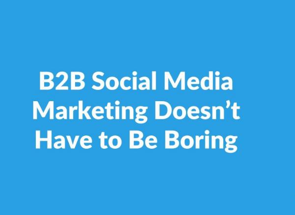 Redes Sociales: Consejos de Marketing de Redes Sociales B2B