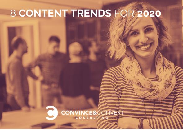 Contenido: Las 8 tendencias más importantes para 2020