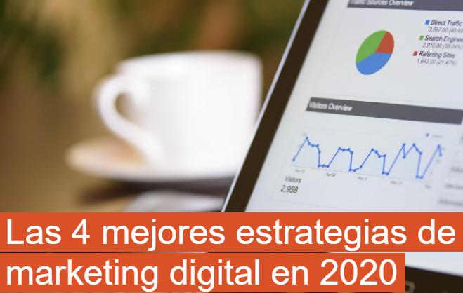 eCommerce: Las 4 mejores estrategias de Marketing en 2020