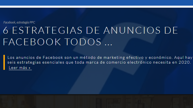 Facebook: 6 estrategias de anuncios que las eCommerce necesitan