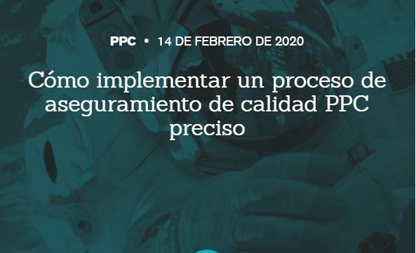 SEM: Implementar un proceso de garantia de calidad PPC
