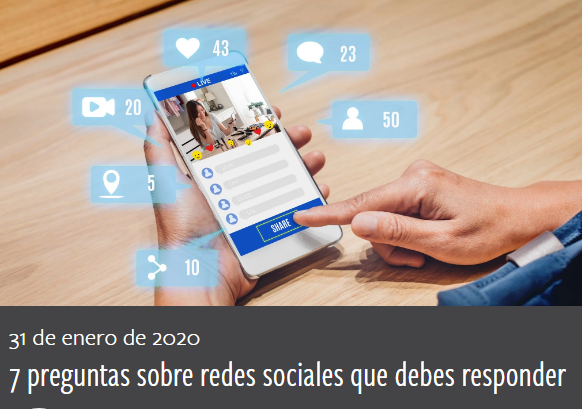Redes Sociales: 7 preguntas sobre RRSS que debes responder