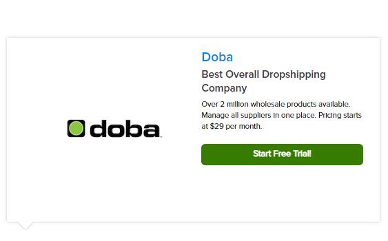 eCommerce: Las mejores empresas y proveedores de Dropshipping