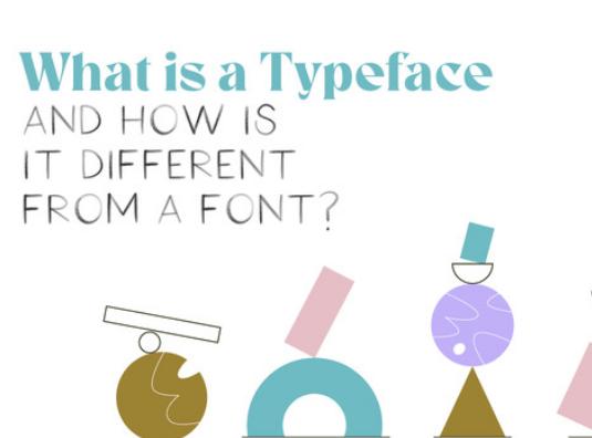 Diseño: ¿Qué es un tipo de letra y qué es una fuente?