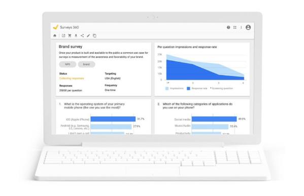 Google: Una guía para principiantes de Google Surveys
