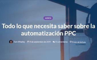 Todo lo que necesita saber sobre la automatización PPC