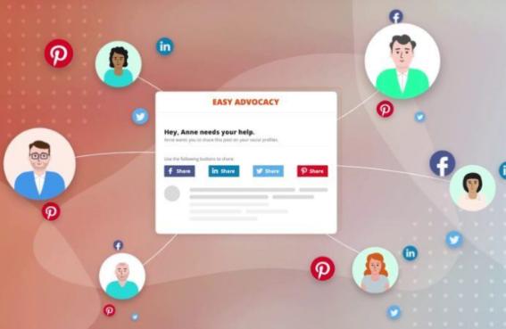 Herramientas: Easy Advocacy para promoción gratuita para RRSS