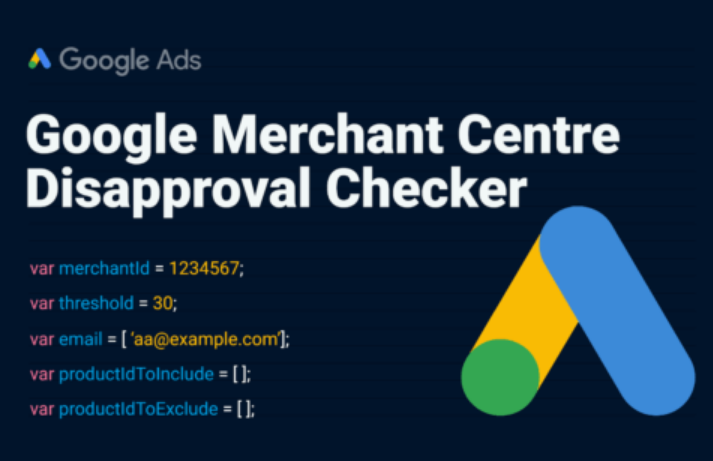 AdWords: Script para estar cubierto con Google Merchant Center