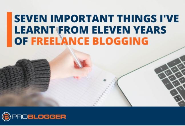 Contenido: Las 7 cosas que aprendí 11 años blogueando