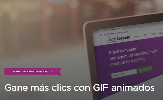 eMail Marketing: Gane más clics con GIF animados
