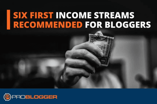 Seis primeras fuentes de ingresos recomendadas para bloggers