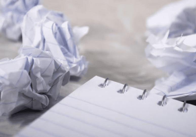 Qué NO hacer cuando tienes el bloqueo del escritor