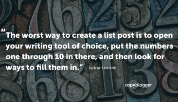 Las 7 claves para listar publicaciones que valen la pena escribir