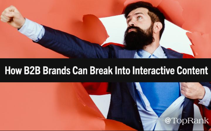 B2B: Cómo introducir las Marcas en contenido interactivo