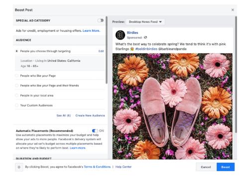 Facebook: Guía para principiantes de post patrocinados
