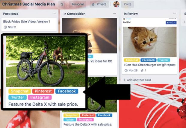 Un plan de medios sociales de ecommerce para las fiestas