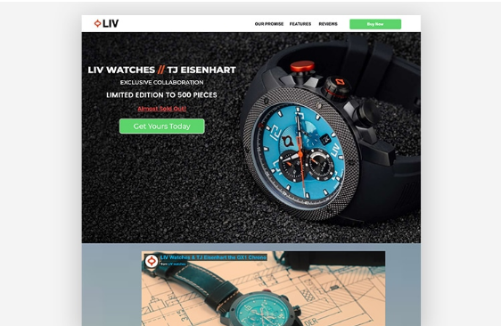 eCommerce: 10 ejemplos de Landing pages que maximizan ventas