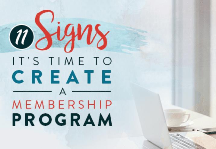 11 señales de que es hora de crear un programa de suscripción