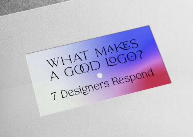 Diseño: ¿Qué hace un buen logotipo? 7 diseñadores responden