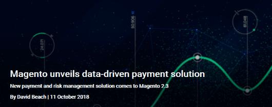 Magento revela una solución de pago basada en datos