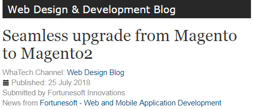 Actualización sin interrupciones de Magento a Magento2