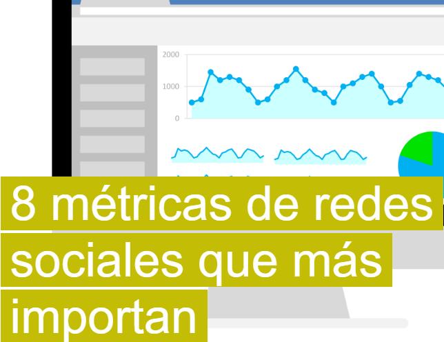 Marketing: 8 métricas de redes sociales que más importan